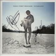 Manic Street Preachers Futurology - Fully Autographed UK vinyl LP