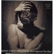 Manic Street Preachers Gold Against The Soul - EX UK vinyl LP