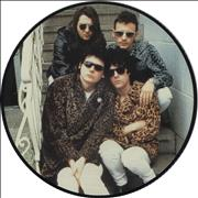 """Manic Street Preachers Interview Picture Disc UK 12"""" picture disc"""