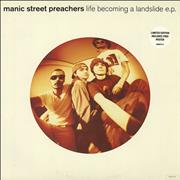 Click here for more info about 'Manic Street Preachers - Life Becoming A Landslide + Poster'