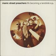 Click here for more info about 'Manic Street Preachers - Life Becoming A Landslide - EX'