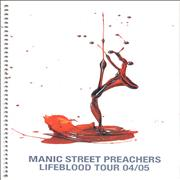 Click here for more info about 'Manic Street Preachers - Lifeblood Tour December 2004'