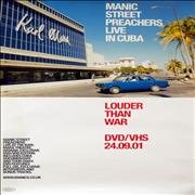 Click here for more info about 'Manic Street Preachers - Live In Cuba - Louder Than War'
