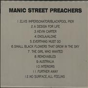 Click here for more info about 'Manic Street Preachers - Manic Street Preachers'