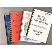 Manic Street Preachers Quantity of Five 1999 Tour Itineraries UK Itinerary