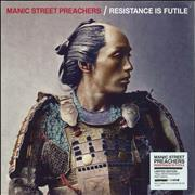 Click here for more info about 'Manic Street Preachers - Resistance Is Futile - 180gm Red - Sealed'