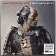 Click here for more info about ' - Resistance Is Futile - White Vinyl - Sealed'