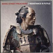 Click here for more info about 'Manic Street Preachers - Resistance Is Futile - 180gm White'