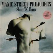 Click here for more info about 'Manic Street Preachers - Slash N Burn + Print'