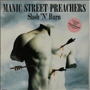 Click here for more info about 'Manic Street Preachers - Slash 'N' Burn - numbered print'