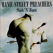Click here for more info about 'Manic Street Preachers - Slash 'n Burn - EX'