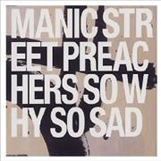 Click here for more info about 'Manic Street Preachers - So Why So Sad'