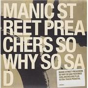 Manic Street Preachers So Why So Sad UK CD single