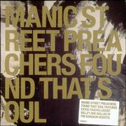 Click here for more info about 'Manic Street Preachers - So Why So Sad/Found That Soul'