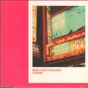 Manic Street Preachers Tsunami UK CD single