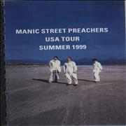 Click here for more info about 'Manic Street Preachers - USA Tour - Summer 1999'