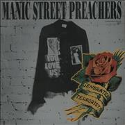 "Manic Street Preachers You Love Us - Fully Autographed UK 12"" vinyl"