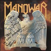 Click here for more info about 'Manowar - Battle Hymns - Autographed'