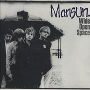 Click here for more info about 'Mansun - Wide Open Space'