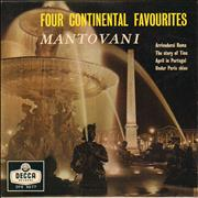 Click here for more info about 'Mantovani - Four Continental Favourites'