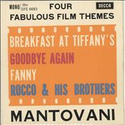 Click here for more info about 'Mantovani - Four Fabulous Film Themes EP'