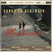 Click here for more info about 'Mantovani - Songs To Remember'