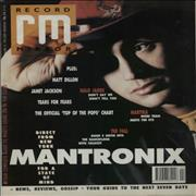 Click here for more info about 'Mantronix - Record Mirror'