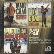 Click here for more info about 'Manu Chao - 3 CD Originals - Sealed'