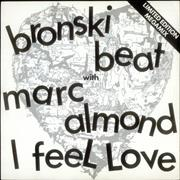 Click here for more info about 'Marc Almond - I Feel Love - Black & White sleeve'