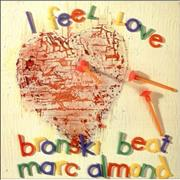 "Bronski Beat I Feel Love UK 12"" vinyl"