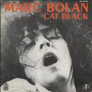 Click here for more info about 'Marc Bolan - Cat Black + Sleeve'