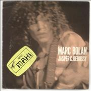 Click here for more info about 'Marc Bolan - Jasper C. Debussy - 4 prong - Stickered Sleeve'