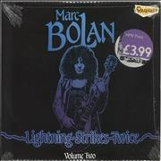 Click here for more info about 'Marc Bolan - Lightning Strikes Twice Volume Two - Red Vinyl - Sealed'