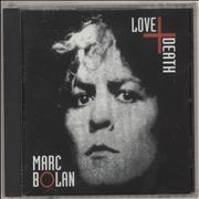 Click here for more info about 'Marc Bolan - Love + Death'