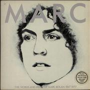 Click here for more info about 'Marc Bolan - Marc - The Words & Music + 7