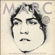 Click here for more info about 'Marc Bolan - Marc - The Words & Music Of Marc Bolan 1947-1977'