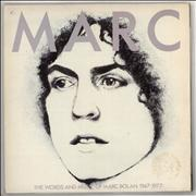 Click here for more info about 'Marc Bolan - Marc - The Words & Music Of Marc Bolan 1947-1977 - EX'