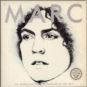 Click here for more info about 'Marc Bolan - Marc - The Words And Music + Card'