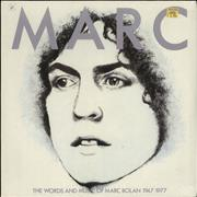 Click here for more info about 'Marc Bolan - Marc: The Words And Music Of Marc Bolan 1947-1977 - Sealed'