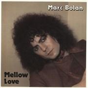 """Marc Bolan Mellow Love - Blue Vinyl UK 7"""" vinyl"""