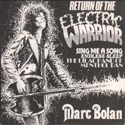 Click here for more info about 'Marc Bolan - Return Of The Electric Warrior - White Label'
