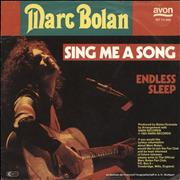Click here for more info about 'Marc Bolan - Sing Me A Song + PR'
