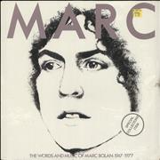 Click here for more info about 'Marc Bolan - The Words And Music Of Marc Bolan 1947-1977 - Sealed'