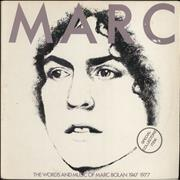 Click here for more info about 'Marc Bolan - The Words And Music Of Marc Bolan 1947-1977 - EX'