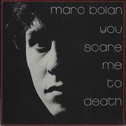 Click here for more info about 'Marc Bolan - You Scare Me To Death + Flexi'