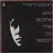 Click here for more info about 'Marc Bolan - You Scare Me To Death + Sleeve'