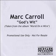 Click here for more info about 'Marc Carroll - God's Wit'