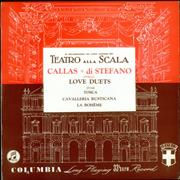 Click here for more info about 'Maria Callas - Love Duets from Tosca, Cavalleria Rusticana & La Boheme'