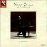 Click here for more info about 'Maria Callas - Maria Callas at Juilliard: The Masterclasses'