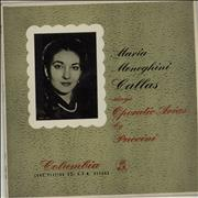 Click here for more info about 'Maria Callas - Maria Meneghini Callas Sings Operatic Arias By Puccini'